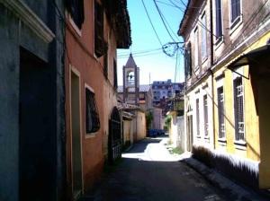 Σοκάκι στο κέντρο της Σκόδρας