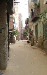 Φτωχογειτονειά κοντά στο Παλιό (Κοπτικό) Κάιρο