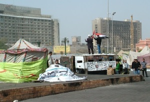 Εικόνα από την πλατεία Ταχρίρ (Φλεβάρης '13)