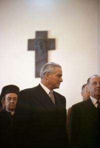 Ο Καμίλ Σαμούν. Συνέχισε να είναι πολιτικά δραστήριος και μετά τη λήξη της προεδρικής του θητείας. Πηγή: www.natgeocreative.com