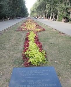 Στο παραθαλάσσιο πάρκο της Βάρνας βρίσκεται κι αυτή η έκταση, όπου έχει τοποθετηθεί χώμα από