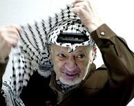 Ο Γιασέρ Αραφάτ (), ο ίδιος ως πρόσωπο σύμβολο του παλαιστινιακού εθνικισμού, φορούσε τη κεφίγιε με τρόπο που σχημάτιζε περίπου το τριγωνικό σχήμα της Παλαιστίνης. http://www.brisbanetimes.com.au/ftimages/2009/01/16/1231608943745.html