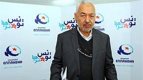 Ο Ρασίντ Γκανούσι, ιδρυτής και πνευματικός ηγέτης του κόμματος Εννάχντα. Το κόμμα ήταν ο πυρήνας της πρώτης δημοκρατικά κυβέρνησης της Τυνησίας μετά την εξέγερση του '11. Τα τρία χρόνια διακυβέρνησης δεν θεωρήθηκαν πετυχημένα - οι εκλογές του '14 το έβαλαν σε ρόλο αξιωματικής αντιπολίτευσης. Πηγή εικόνας: http://www.aljazeera.com/indepth/opinion/2012/04/20124795440442662.html