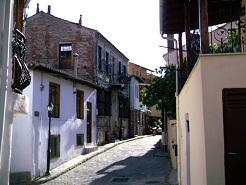 Η παλιά πόλη της Ξάνθης.