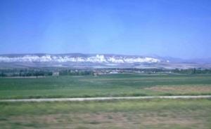 Η στέπα της Ανατολίας, όπως φαίνεται από το τρένο Άκγυρα-Ικόνιο.