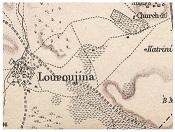 Χάρτης της Λουρουτζίνας, χωριού που συνδέθηκε ιδιαίτερα με την παράδοση των Λινοπάμπακων. Πριν το '74 έφτασε να έχει μέχρι 3000 κατοίκους, η απομόνωση (μόνο μια στενή λωρίδα γης το συνδέει με τα υπόλοιπα κατεχόμενα) και η στρατιωτικοποίηση μετά την εισβολή έφεραν και την παρακμή του: μόνο 400-500 κάτοικοι έχουν απομείνει σήμερα. https://tfrnorthcyprus.wordpress.com/2013/10/17/north-cyprus-akincilarlurucina-looking-back-in-time/