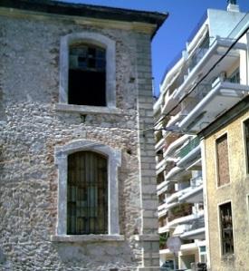 Παλιά καπναποθήκη στο κέντρο της Ξάνθης, σύμβολο για ένα από τα παραδοσιακά πιο σημαντικά προϊόντα της περιοχής.