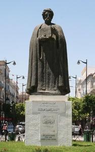 Άγαλμα του Ιμπν Χαλντούν στην Τύνιδα. http://www.britannica.com/biography/Ibn-Khaldun
