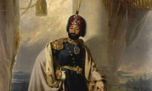 Ο Σουλτάνος Μαχμούτ Β' (βασιλεία: 1808-1839). http://turkish-ichistory.com/2015/03/the-ottoman-tanzimat-through-the-eyes-of-robert-walsh-part-2/