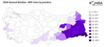 Τα ποσοστά του HDP στις εκλογές του Ιουνίου 2015. http://www.konda.com.tr/en/raporlar/KONDAJune7ElectionandElectorateAnalysis.pdf