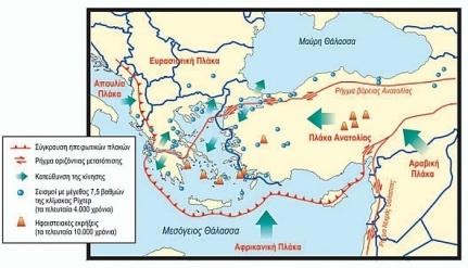 Τα όρια των τεκτονικών πλακών και οι κινήσεις τους. http://ebooks.edu.gr/modules/ebook/show.php/DSGYM-B106/382/2534,9803/
