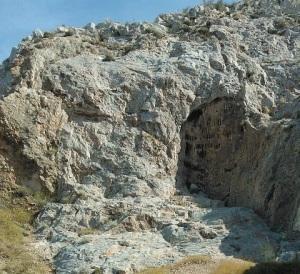 Ασβεστόλιθος στα Τουρκοβούνια.