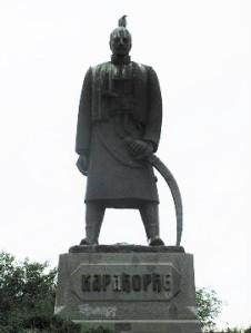 Άγαλμα του Καρα-Τζόρτζε Πέτροβιτς (γνωστού σε μας και ως Καραγιώργης Σερβίας) σε πλατεία του Βελιγραδίου.