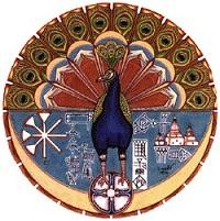 Απεικόνιση του Μελέκ Ταούς. http://www.cais-soas.com/CAIS/Religions/iranian/yazidis.htm
