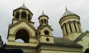 Η Αρμένικη Εκκλησία στην παλιά αρμένικη συνοικία του Βουκουρεστίου είναι ένα δείγμα του πολυπολιτισμικού οθωμανικού παρελθόντος.