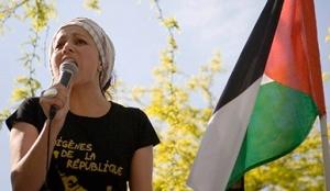 Η Χουρία Μπουτέλντζα, μια από τις ηγετικές προσωπικότητες του Κινήματος Ιθαγενών της Δημοκρατίας. http://mondoweiss.net/2015/01/charlie-wretched-desecration/