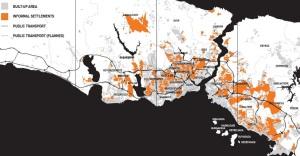 Χάρτης που απεικονίζει τις