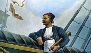 Ο Ανδρέας Μιαούλης (1769-1835) γεννήθηκε στην Ύδρα και δραστηριοποιήθηκε ήδη νέος ως πειρατής στην Αίγυπτο, προτού επιστέψει στην πατρίδα του για να γίνει έμπορος. Στην Ελληνική Επανάσταση ήταν ο αρχηγός του υδραίικου στόλου, με πολλές επιτυχίες εναντίον των Τούρκων. Το 1827 ο Καποδίστριας του ανέθεσε την εκκαθάριση του Αιγαίου από τους πειρατές, αποστολή στην οποία επίσης πέτυχε - αν και στη συνέχεια προσχώρησε στην αντικαποδιστριακή παράταξη. http://www.mixanitouxronou.gr/andreas-miaoulis-o-thrilikos-thalassomachos-tou-21-diaspouse-tous-vretanikous-apoklismous-nikise-epanillimmena-tous-tourkous-exalipse-tous-pirates-omos-to-telos-tis-zois-tou-simadeftike-apo-mia/