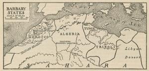 Τα κράτη της Μπαρπαριάς στη Βόρεια Αφρικής. https://www.flickr.com/photos/walkingsf/7094705733