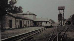 Παλιά φωτογραφία του Σ.Σ. Λευκωσίας (πηγή: Μουσείο Κυπριακού Σιδηροδρόμου).