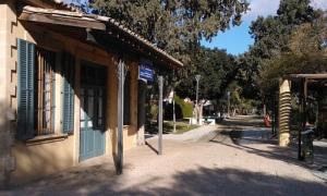 Το σημερινό γραμμικό πάρκο Καϊμακλίου είναι το τελευταίο ίχνος της σιδηροδρομικής γραμμής, που περιοχή υπό τον έλεγχο της Κυπριακής Δημοκρατίας. Η συνέχεια της γραμμής προς την Αμμόχωστο ακολουθούσε μια διαδρομή, που βρίσκεται σήμερα εξ' ολοκλήρου στα κατεχόμενα.